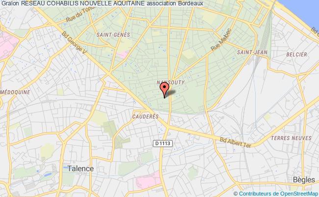 plan association Reseau Cohabilis Nouvelle Aquitaine
