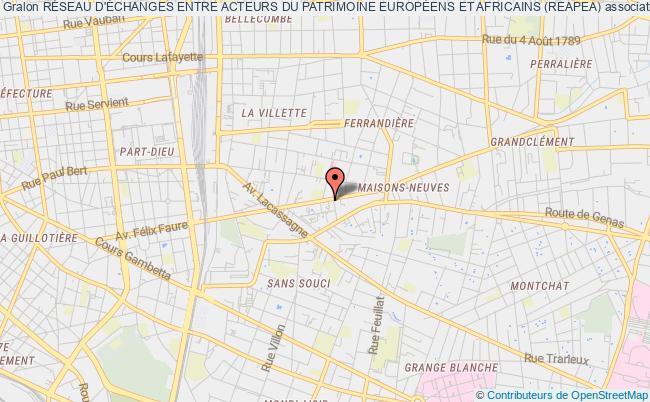 plan association RÉseau D'Échanges Entre Acteurs Du Patrimoine EuropÉens Et Africains (reapea)