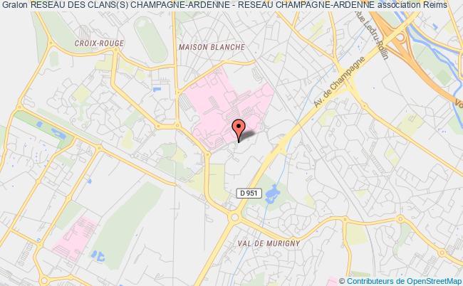 plan association Reseau Des Clans(s) Champagne-ardenne - Reseau Champagne-ardenne