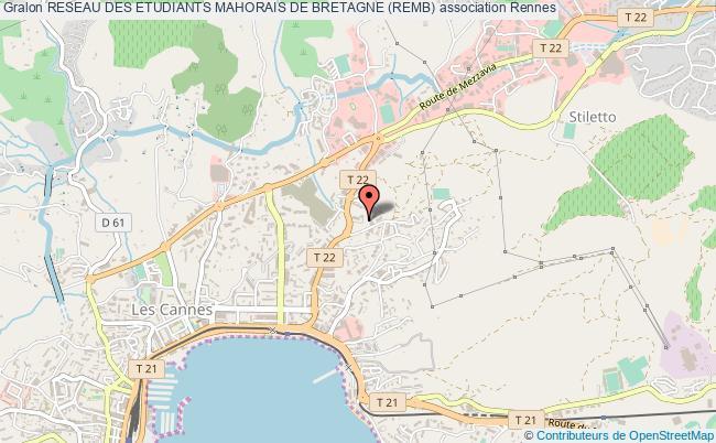 plan association Reseau Des Etudiants Mahorais De Bretagne (remb) Rennes