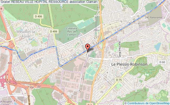 plan association Reseau Ville Hopital Ressource