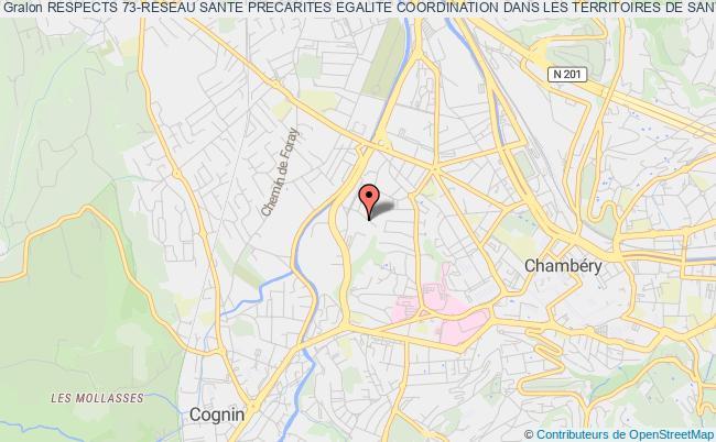 plan association Respects 73-reseau Sante Precarites Egalite Coordination Dans Les Territoires De Sante De Savoie