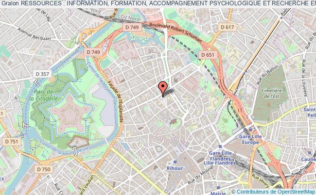 plan association Ressources : Information, Formation, Accompagnement Psychologique Et Recherche En SantÉ