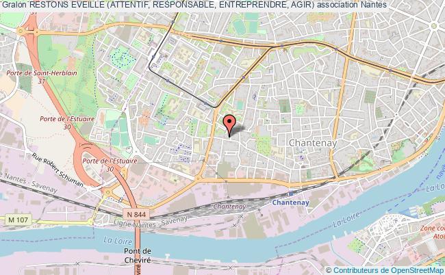 plan association Restons Eveille (attentif, Responsable, Entreprendre, Agir)