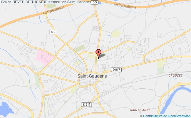 plan association Reves De Theatre Saint-Gaudens