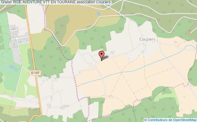 plan association Ride Aventure Vtt En Touraine