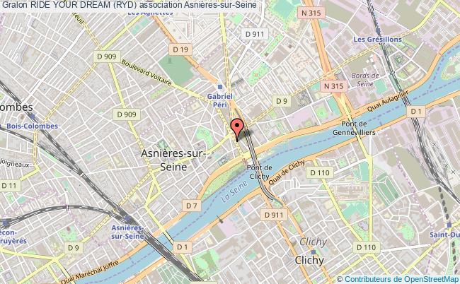 plan association Ride Your Dream (ryd) Asnières-sur-Seine