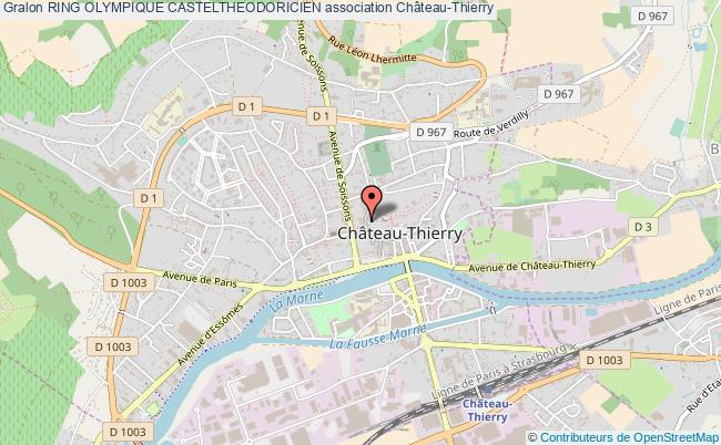 plan association Ring Olympique Casteltheodoricien