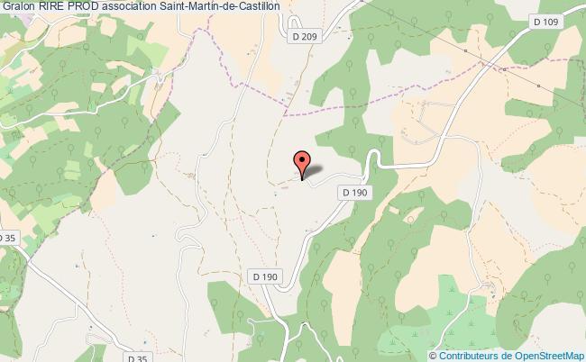 plan association Rire Prod Saint-Martin-de-Castillon