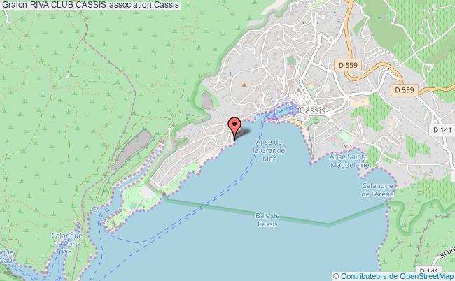plan association Riva Club Cassis