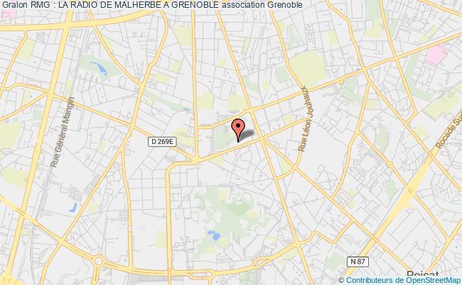 plan association Rmg : La Radio De Malherbe A Grenoble Grenoble