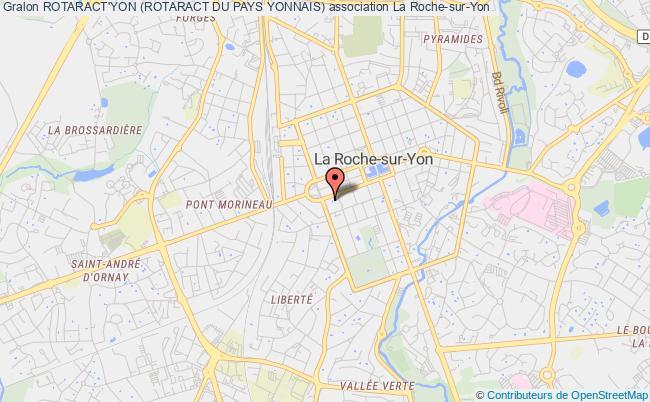 plan association Rotaract'yon (rotaract Du Pays Yonnais) La    Roche-sur-Yon
