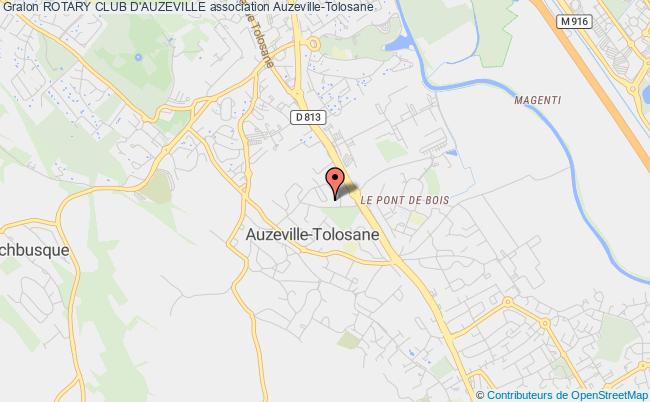 plan association Rotary Club D'auzeville Auzeville-Tolosane