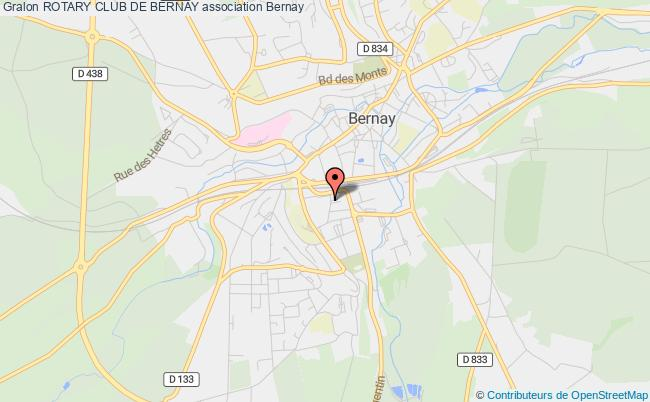plan association Rotary Club De Bernay