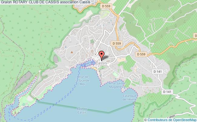 plan association Rotary Club De Cassis