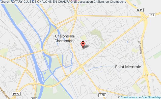 plan association Rotary Club De Chalons-en-champagne