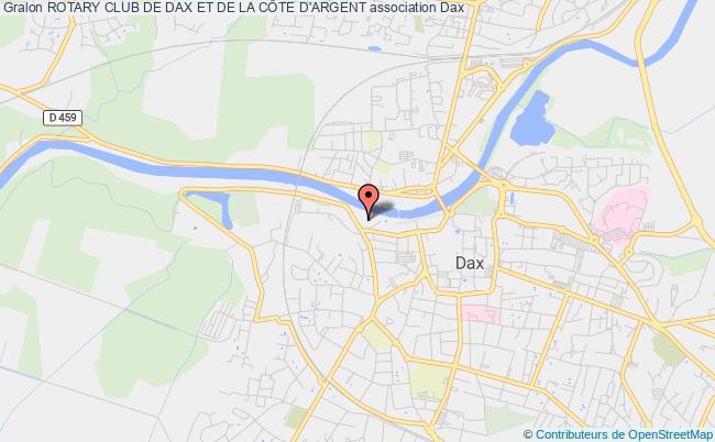 plan association Rotary Club De Dax Et De La CÔte D'argent