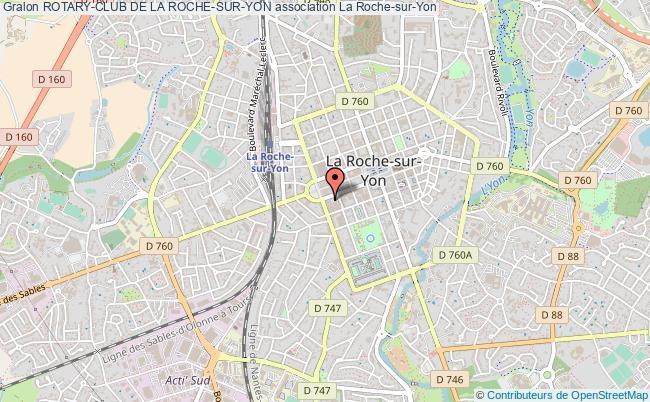 plan association Rotary-club De La Roche-sur-yon La    Roche-sur-Yon