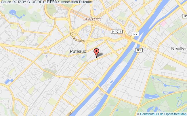 plan association Rotary Club De Puteaux