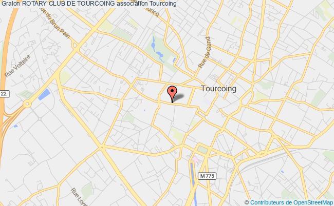 plan association Rotary Club De Tourcoing Ouest