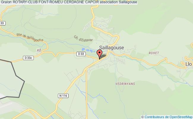 plan association Rotary-club Font-romeu Cerdagne Capcir Saillagouse