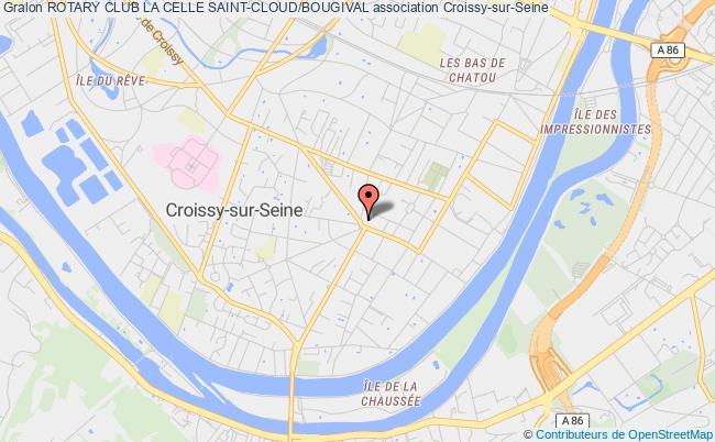 plan association Rotary Club La Celle Saint-cloud/bougival Bougival