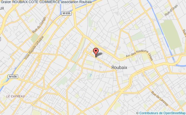 plan association Roubaix Cote Commerce