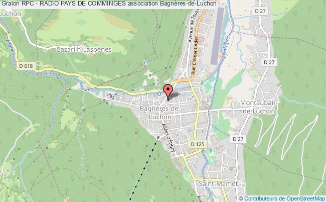 plan association Rpc - Radio Pays De Comminges Bagnères-de-Luchon