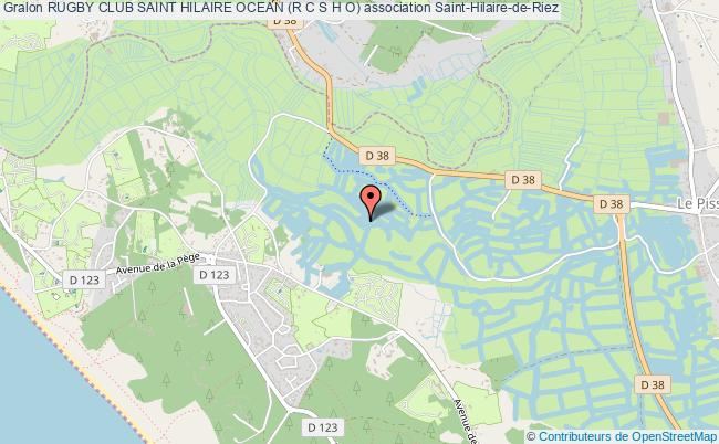 plan association Rugby Club Saint Hilaire Ocean (r C S H O)