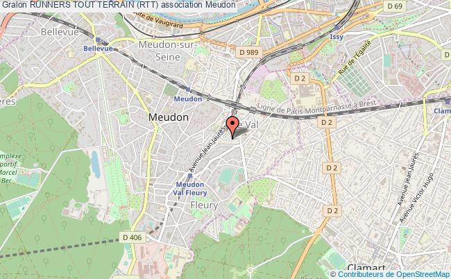 plan association Runners Tout Terrain (rtt)