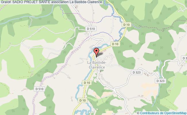 plan association Sadio Projet Sante