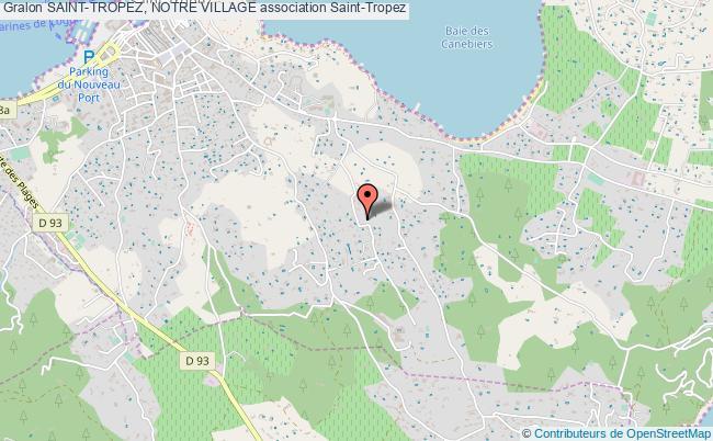 plan association Saint-tropez, Notre Village