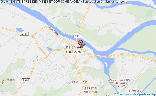 plan association Sainte Barbe Des Mines Et Corniche Angevine Chalonnes-sur-Loire