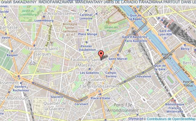 plan association Sakaizan'ny  Radiofahazavana  Manerantany (amis De La Radio Fahazavana Partout Dans Le Monde)