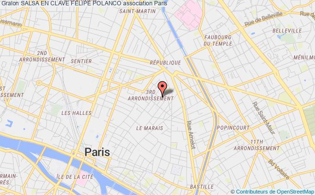 plan association Salsa En Clave Felipe Polanco Paris 3e