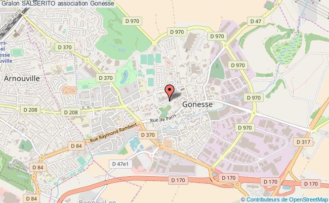 plan association Salserito Gonesse
