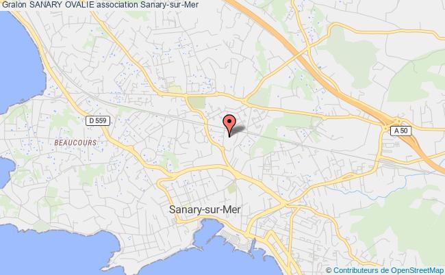 plan association Sanary Ovalie