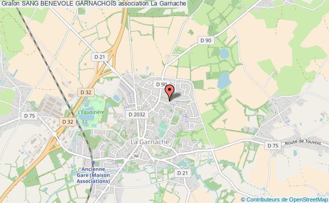 plan association Sang Benevole Garnachois