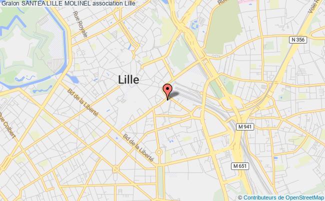plan association Santea Lille Molinel