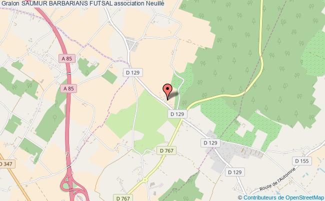 plan association Saumur Barbarians Futsal