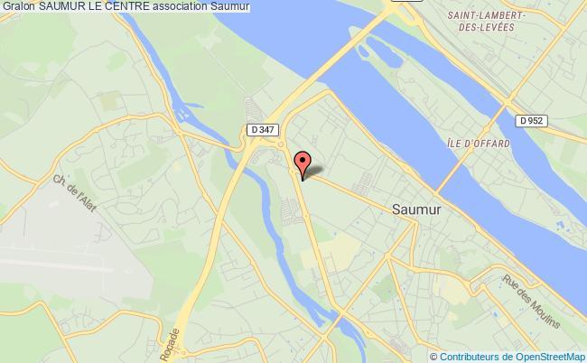 plan association Saumur Le Centre