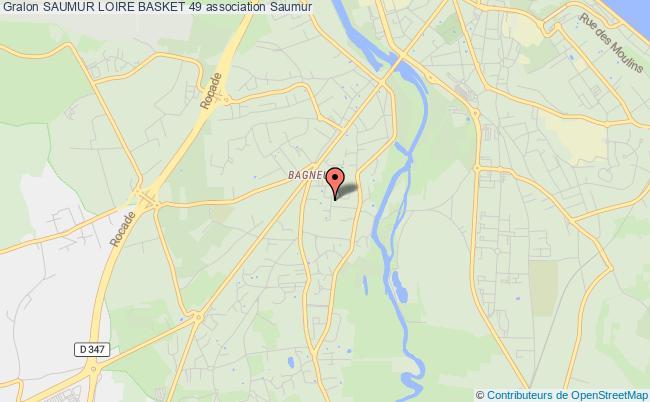plan association Saumur Loire Basket 49