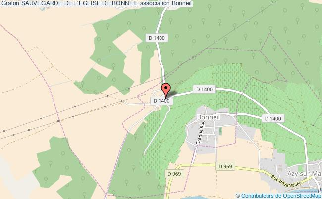 plan association Sauvegarde De L'eglise De Bonneil