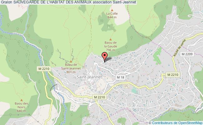 plan association Sauvegarde De L'habitat Des Animaux