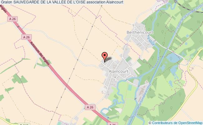 plan association Sauvegarde De La VallÉe De L'oise