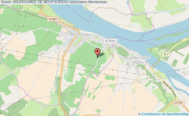 plan association Sauvegarde De Montsoreau