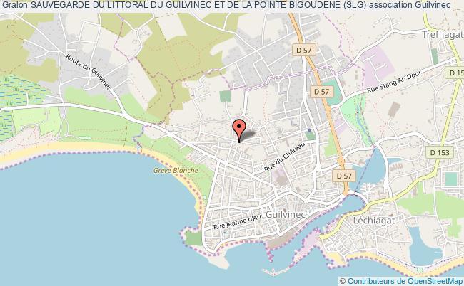 plan association Sauvegarde Du Littoral Du Guilvinec Et De La Pointe Bigoudene (slg)