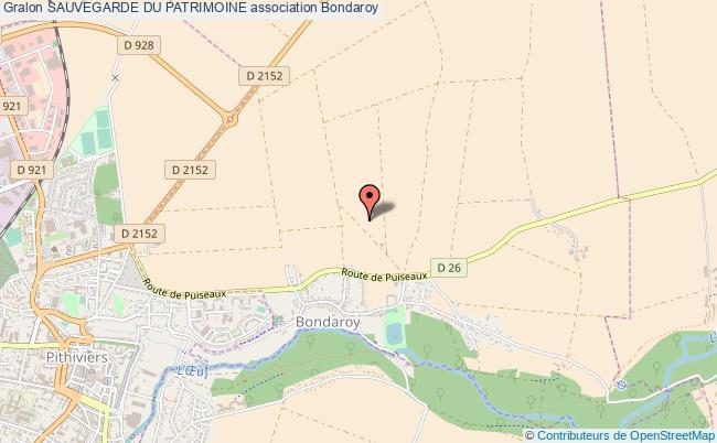 plan association Sauvegarde Du Patrimoine