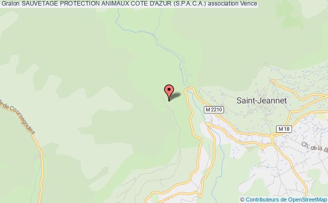 plan association Sauvetage Protection Animaux Cote D'azur (s.p.a.c.a.)