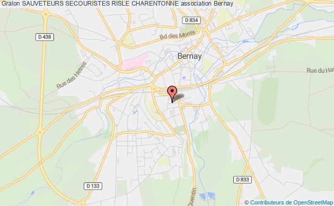 plan association Sauveteurs Secouristes Risle Charentonne